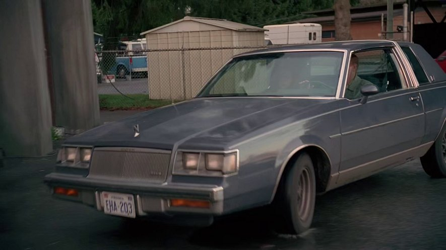 1984 buick regal limited in the x files 1993 Action regal