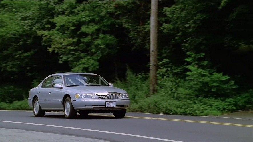 Lincoln Continental 1998. 1998 Lincoln Continental
