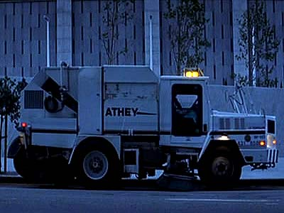 Athey Mobil M8 A Street Sweeper