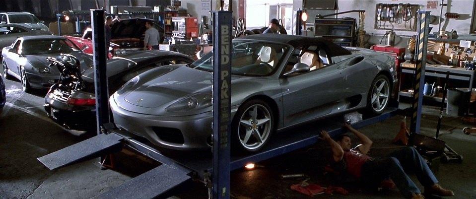 Imcdb 2000 Ferrari 360 Spider In The Italian Job 2003