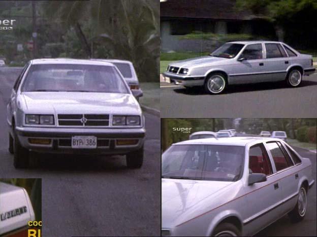 Imcdb Org 1985 Dodge Lancer In Quot Magnum P I 1980 1988 Quot