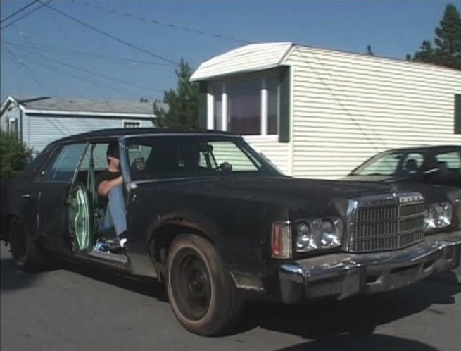 1975 chrysler new yorker brougham in trailer. Black Bedroom Furniture Sets. Home Design Ideas