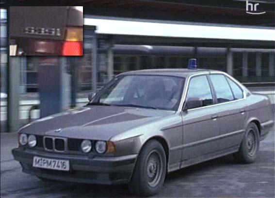 Imcdb Org  1989 Bmw 535i  E34  In  U0026quot Tatort