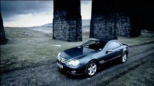 2006 mercedes benz sl 350 r230 in top gear. Black Bedroom Furniture Sets. Home Design Ideas