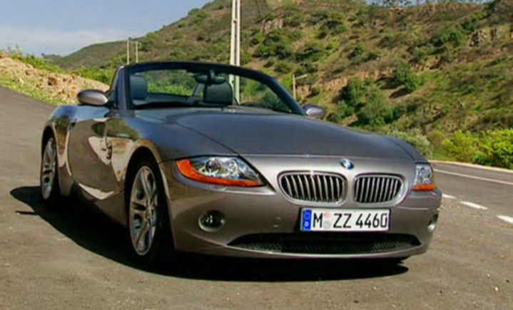 Imcdb Org 2002 Bmw Z4 3 0i E85 Dans Quot Top Gear 2002 2015 Quot