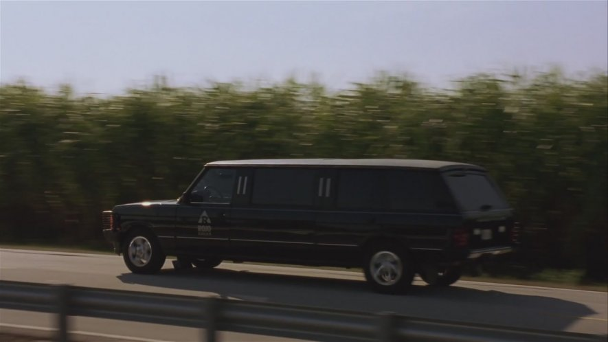 Rover Range Rover Stretched Limousine nel film Striptease