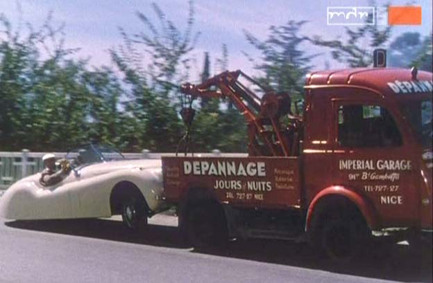 1956 Renault 1000 Kg Chassis Cabine D�panneuse [R2065]