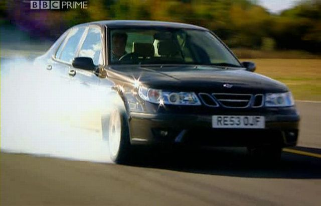 Imcdb 2003 Saab 9 5 Hot Aero Gen1 In Top Gear 2002 2015