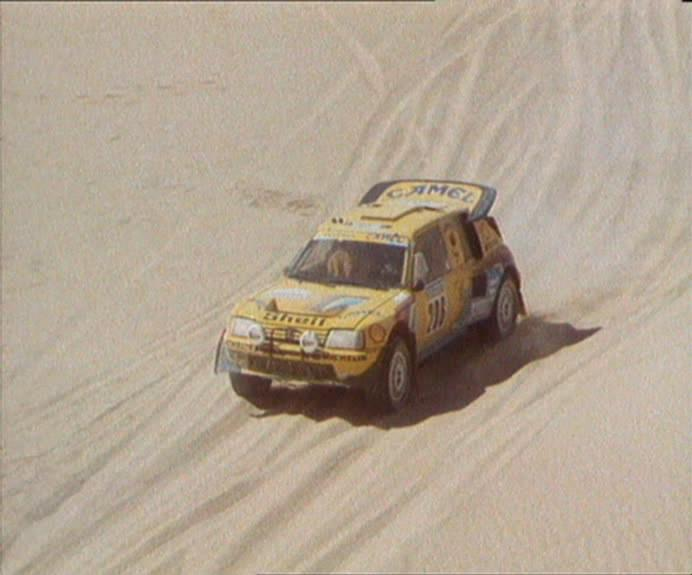 1987 Peugeot 205 Turbo 16 Rally Raid