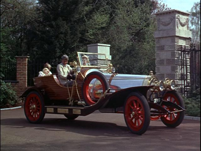Chitty Chitty Bang Bang Old Racing Car