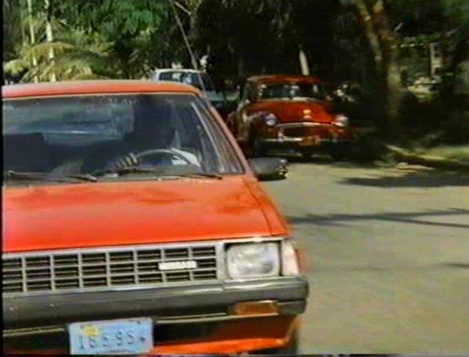IMCDborg 1984 Nissan Sentra B11 in Cop Target 1991
