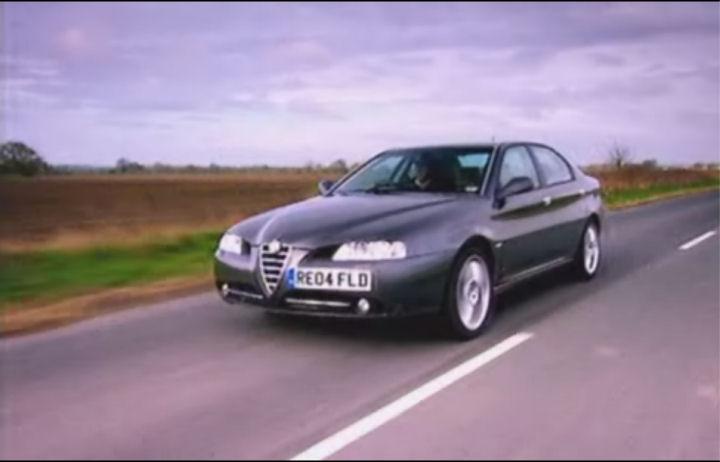 Imcdb 2004 Alfa Romeo 166 V6 24v Lusso 936 In Top Gear 2002