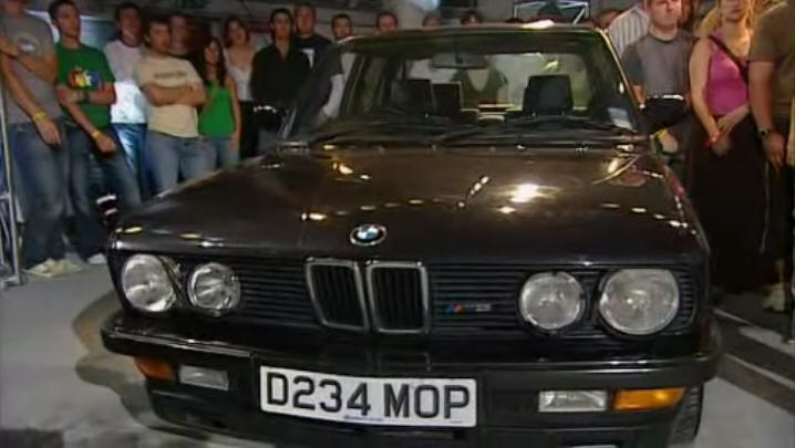 1986 bmw m5 e28 in top gear 2002 2015. Black Bedroom Furniture Sets. Home Design Ideas