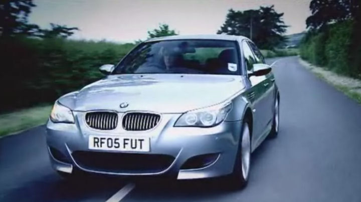 IMCDborg BMW M E In Top Gear - 2005 bmw m5