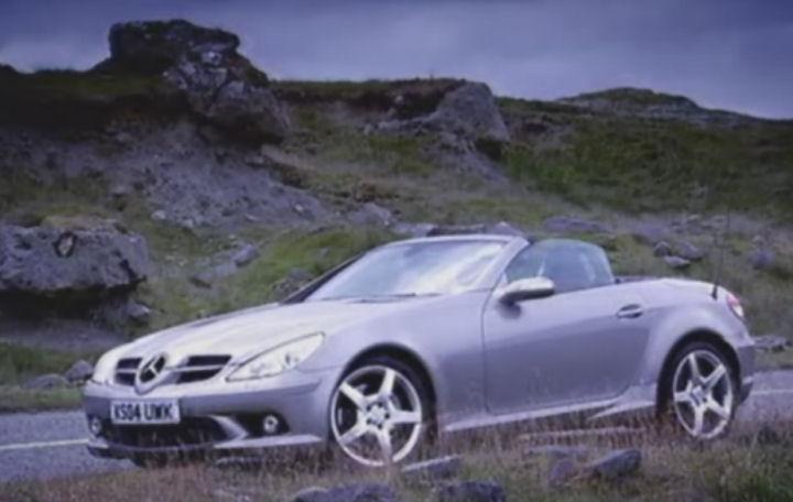 2004 mercedes benz slk 350 r171 in top gear. Black Bedroom Furniture Sets. Home Design Ideas