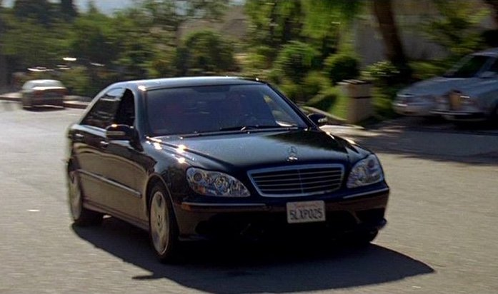 2003 Mercedes Benz S 500 W220 In American