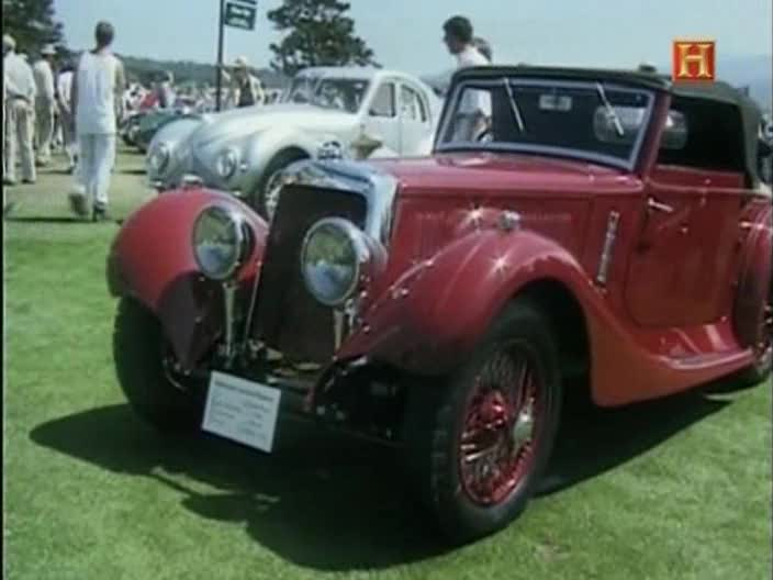 1937 Aston Martin 15/98 Drophead Coupé