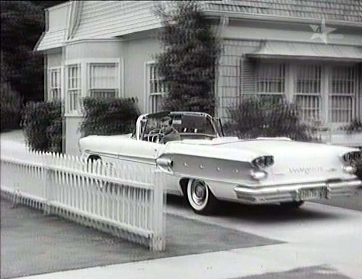 1958 Pontiac Bonneville Custom Convertible [2567SD]