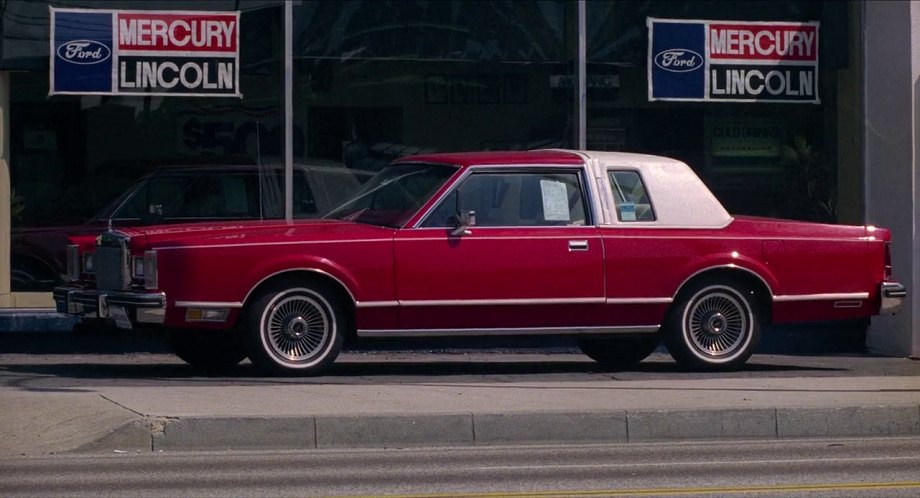 1980 lincoln continental 66d in honky tonk freeway 1981. Black Bedroom Furniture Sets. Home Design Ideas