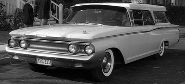 1960 Mercury Commuter Country Cruiser [77A]