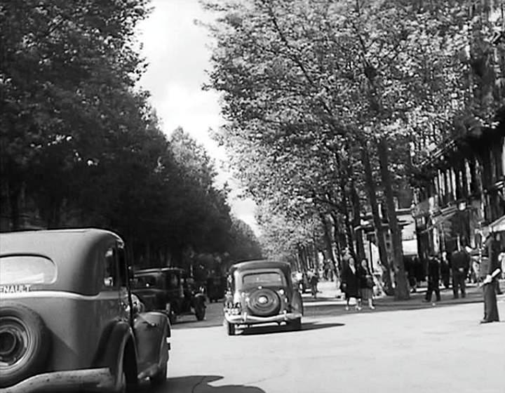 1934 renault vivaquatre taxi conduite. Black Bedroom Furniture Sets. Home Design Ideas