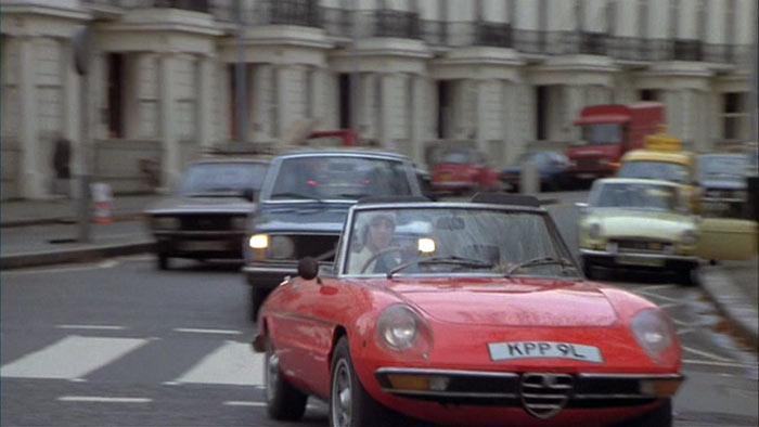 I on 1973 Alfa Romeo Spider