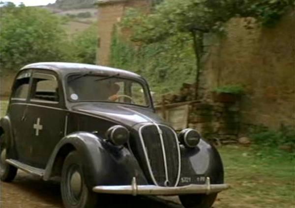 Imcdb Org 1937 Fiat 508 C Balilla 1100 108c In Quot In Love