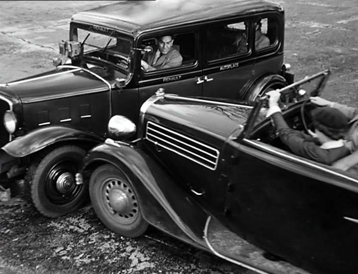 1933 renault taxi g7 type kz11 in sous le ciel de paris 1951. Black Bedroom Furniture Sets. Home Design Ideas