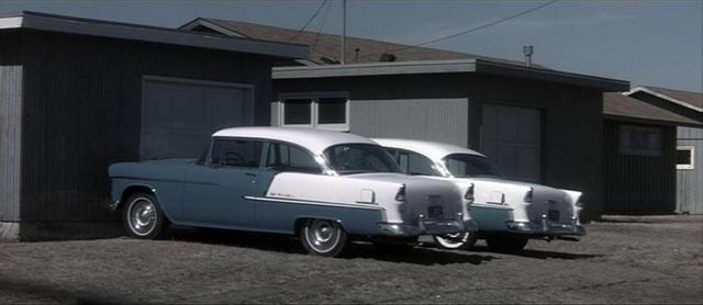1955 Chevrolet Bel Air Two Door Sedan [2402]