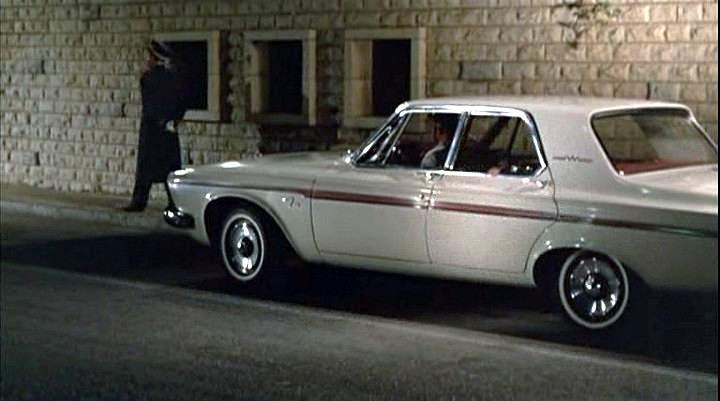 1963 Plymouth Fury 4 Door Sedan