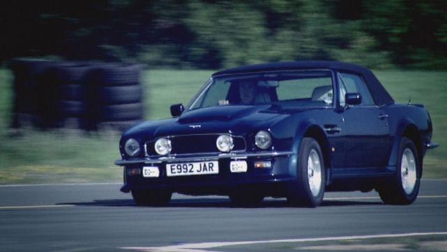 Aston Martin Vantage V8 Convertible. 1988 Aston Martin V8 Vantage