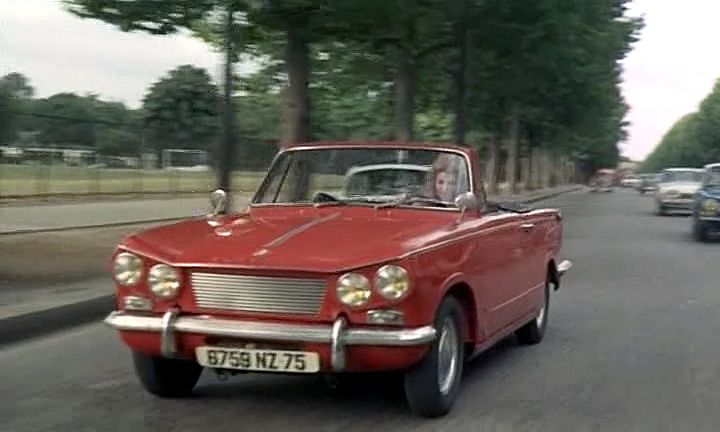 imcdb org 1962 triumph vitesse 6 convertible in le fou du labo iv 1967