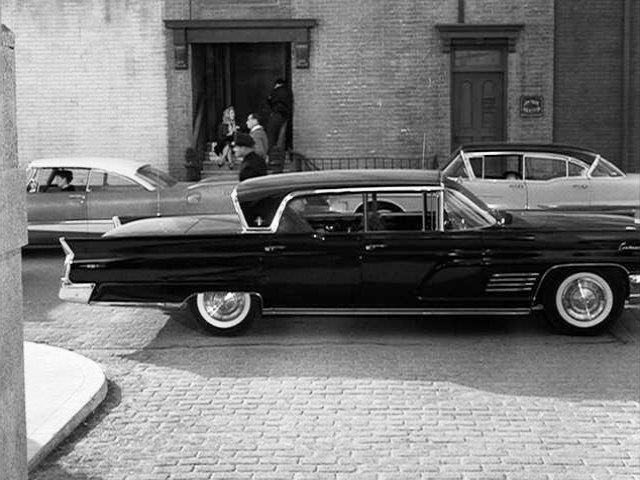 IMCDb.org: 1960 Lincoln Continental Mark V Sedan [54A] in