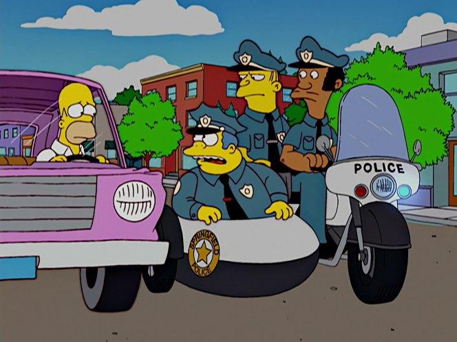 Kawasaki kz 1000 police in the simpsons 1989 2019 - Police simpsons ...