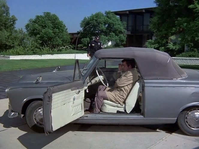 1960 peugeot 403 cabriolet dans columbo the most crucial game 1972. Black Bedroom Furniture Sets. Home Design Ideas