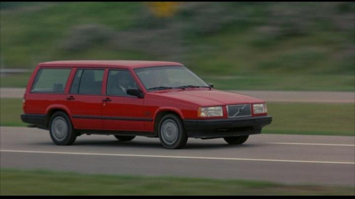 1990 Volvo 740 Red 200 Interior And Exterior Images
