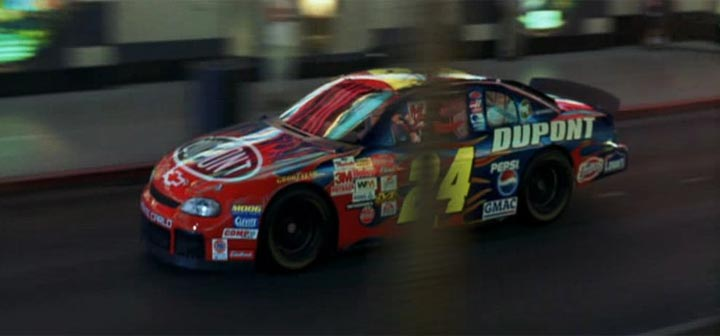 "Jeff Gordon Chevrolet >> IMCDb.org: Chevrolet Monte Carlo NASCAR in ""Looney Tunes Back in Action, 2003"""