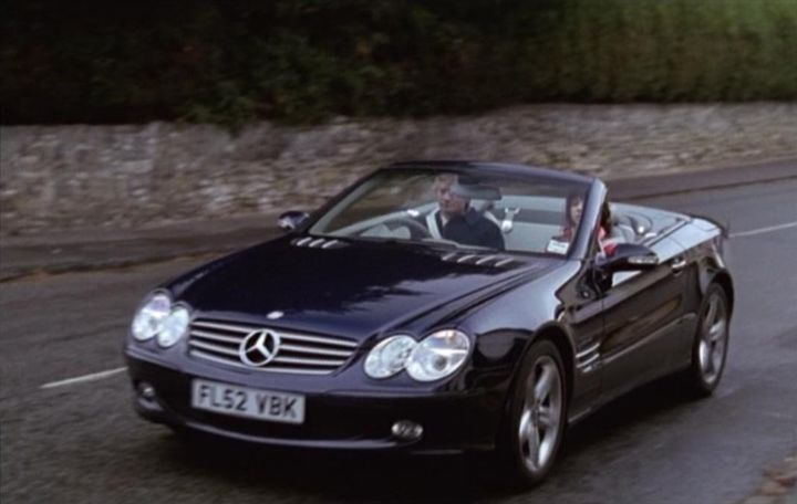 2002 mercedes benz sl 500 r230 in midsomer. Black Bedroom Furniture Sets. Home Design Ideas