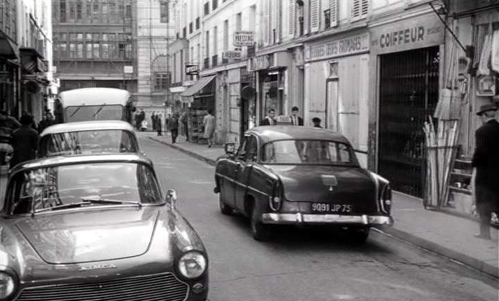 1960 simca ariane taxi g7 in la chasse l for Garage des taxis g7