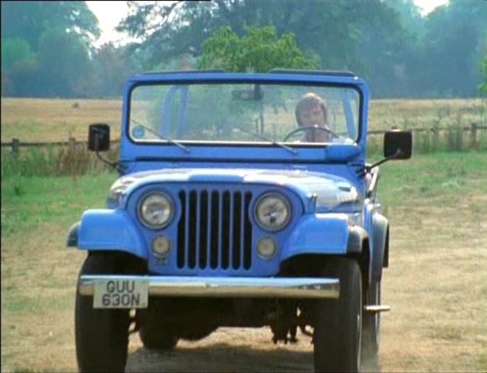 1975 Jeep CJ5 Renegade http://www.imcdb.org/vehicle_92232-Jeep-CJ-5-1975.html