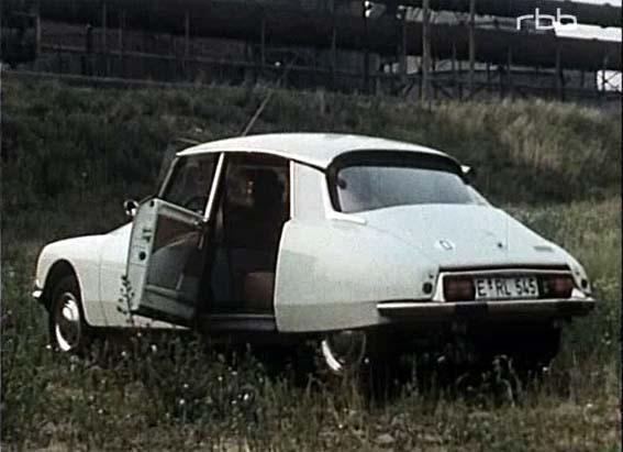 Imcdb 1973 Citron Ds 23 Ie Confort In Tatort Zweikampf 1974