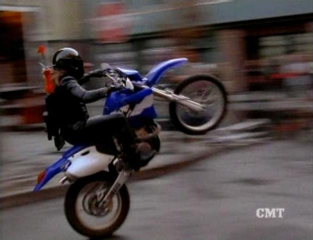 I bought the WR400F in the