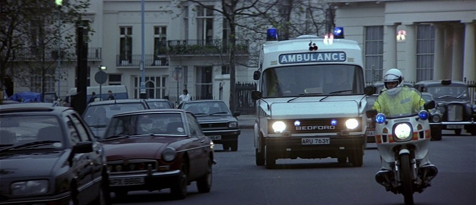 1983 Bedford CF Ambulance Hanlon High Line