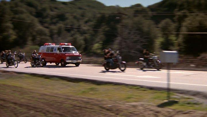 """IMCDb.org: 1974 Dodge Tradesman in """"Pee-wee's Big Adventure, 1985"""""""