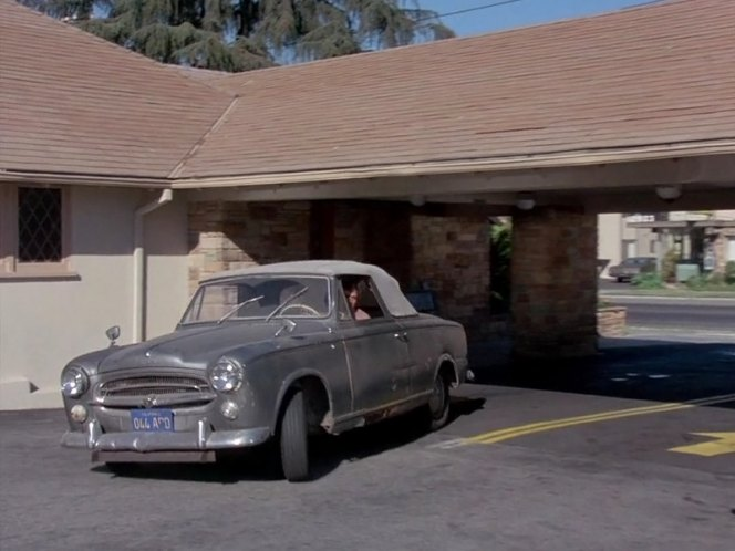 1960 peugeot 403 cabriolet in columbo now you see him 1976. Black Bedroom Furniture Sets. Home Design Ideas
