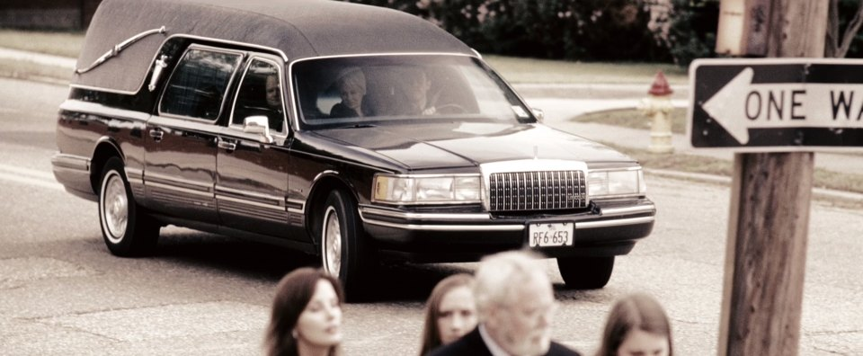 1993 Lincoln Town Car Funeral Coach