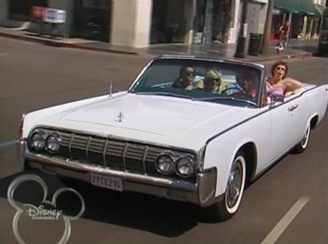 1964 lincoln continental convertible 74a in the suite life of zack cody 2005 2008. Black Bedroom Furniture Sets. Home Design Ideas