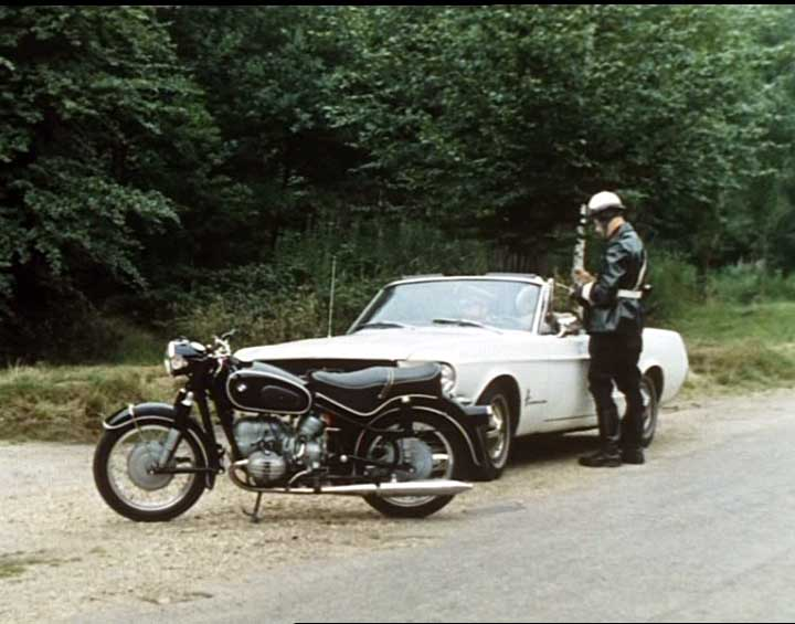 Imcdb Org Bmw R 50 2 In Quot The Saint 1962 1969 Quot