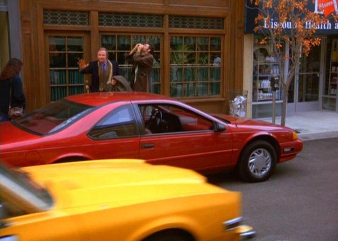 1992 ford thunderbird lx in seinfeld 1989 1998. Black Bedroom Furniture Sets. Home Design Ideas