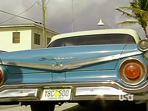 1959 Ford Fairlane 500 Galaxie Sunliner [76B]
